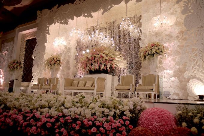Wedding Reception of Alvin & Jennifer by Lumens Indonesia - 003