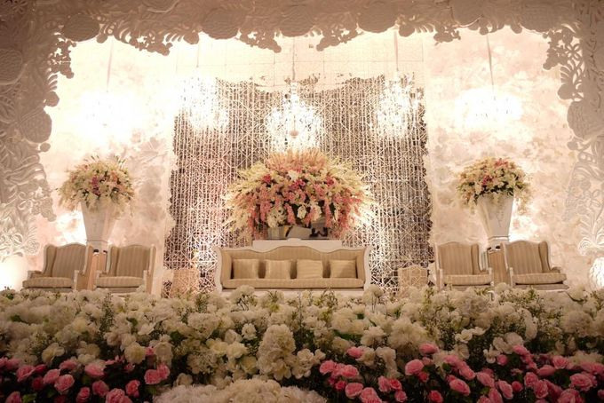 Wedding Reception of Alvin & Jennifer by Lumens Indonesia - 004