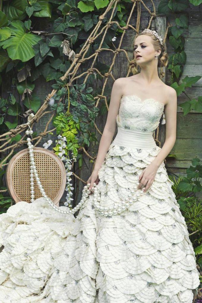 Adrian gan wedding dress harga