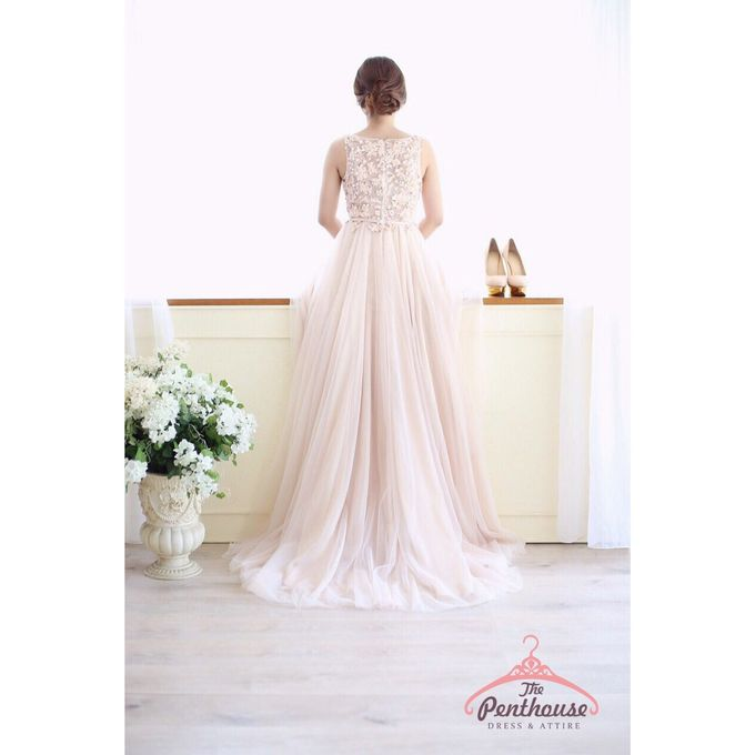 Cream Collection by The Penthouse Dress - 003