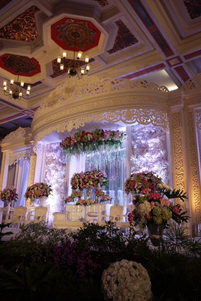 Wedding Reception of Devi & Edwin by Lumens Indonesia - 001