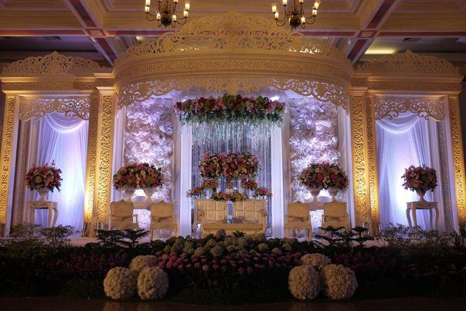 Wedding Reception of Devi & Edwin by Lumens Indonesia - 002