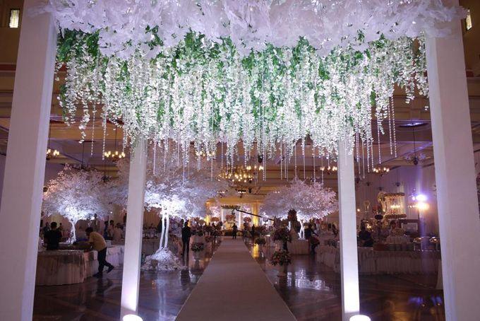 Wedding Reception of Devi & Edwin by Lumens Indonesia - 003