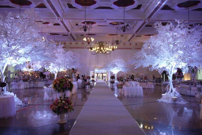 Wedding Reception of Devi & Edwin by Lumens Indonesia - 004