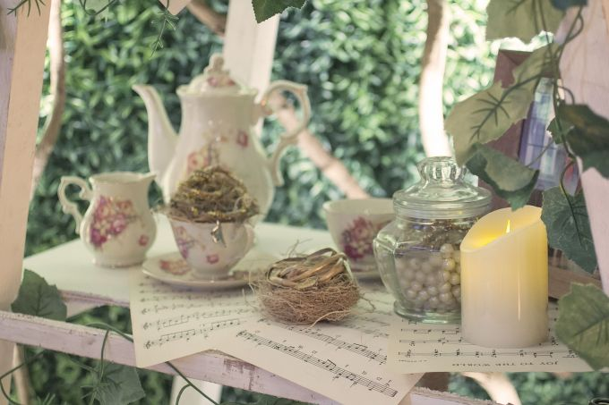 Romantic Rustic Wedding by Fuchsia Decoration - 001