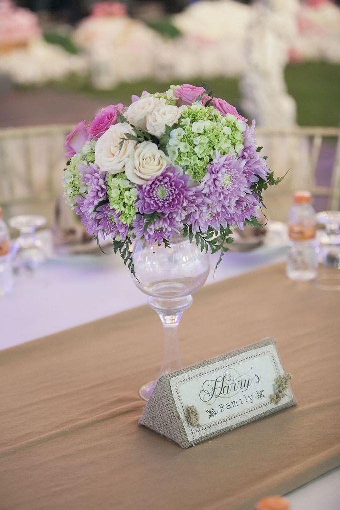 Romantic Rustic Wedding by Fuchsia Decoration - 008