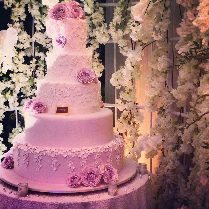 5 layers Wedding Cakes by LeNovelle Cake - 014