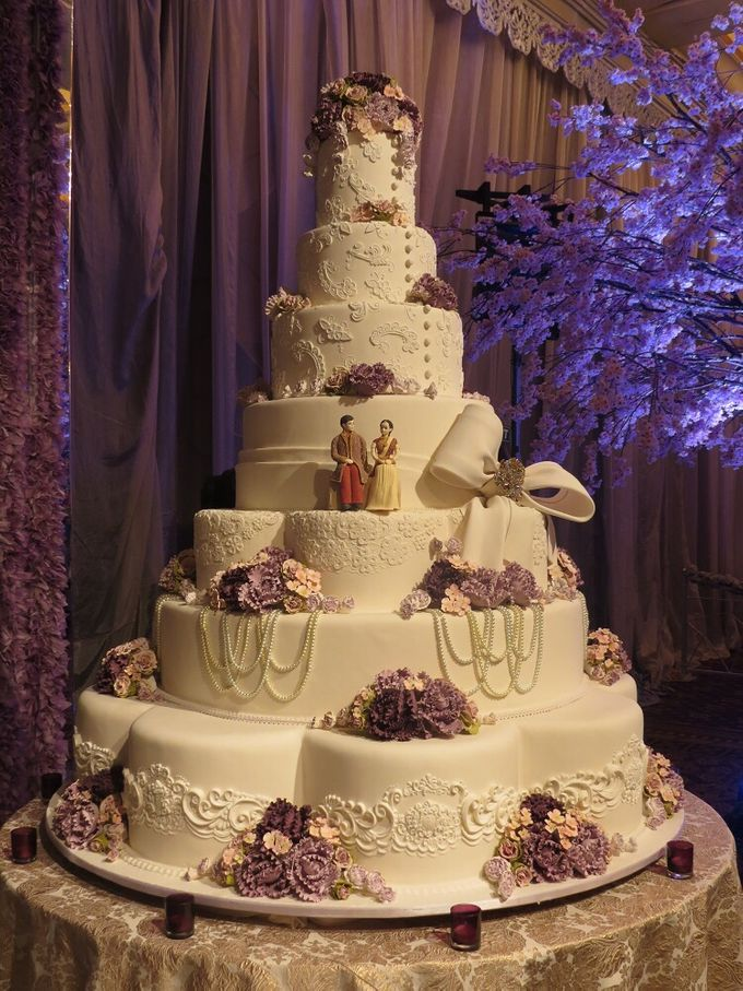 7 tiers Wedding Cake by LeNovelle Cake - 016