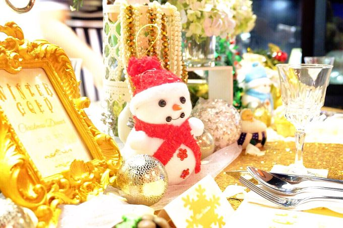 Gold christmas by Valexis Table Design - 001