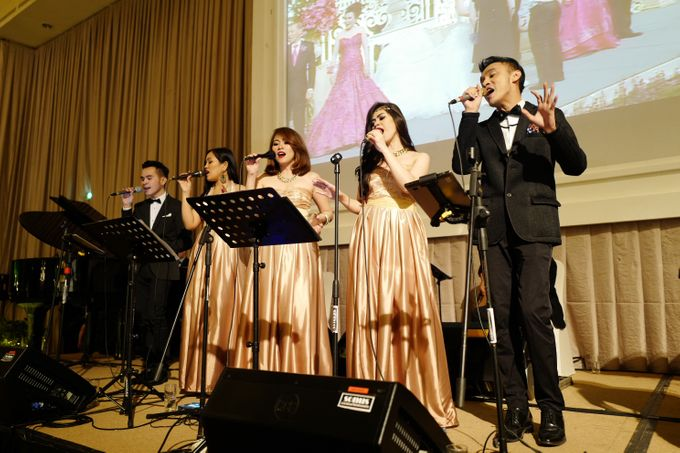 Andy & Katherine Grand Wedding by Nico Santoso Entertainment - 004