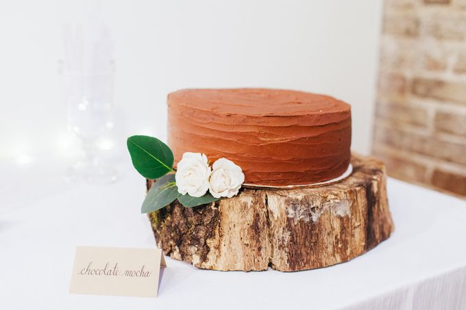 Cake dreamscape wedding by Milk + Honey - 007