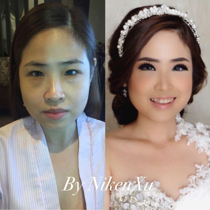 Wedding Makeup by Niken Xu Makeup Artist - 010