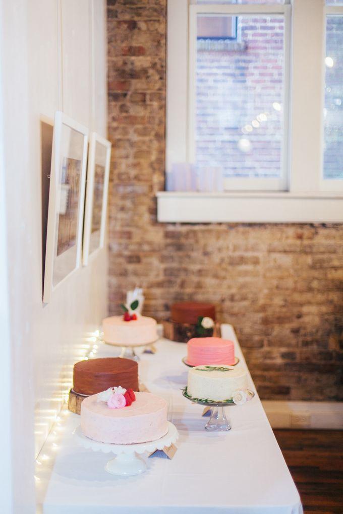 Cake dreamscape wedding by Milk + Honey - 004