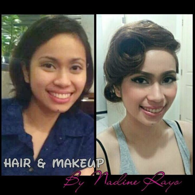 BEFORE AND AFTER by Nadine Rayo Hair and Makeup Artistry - 007