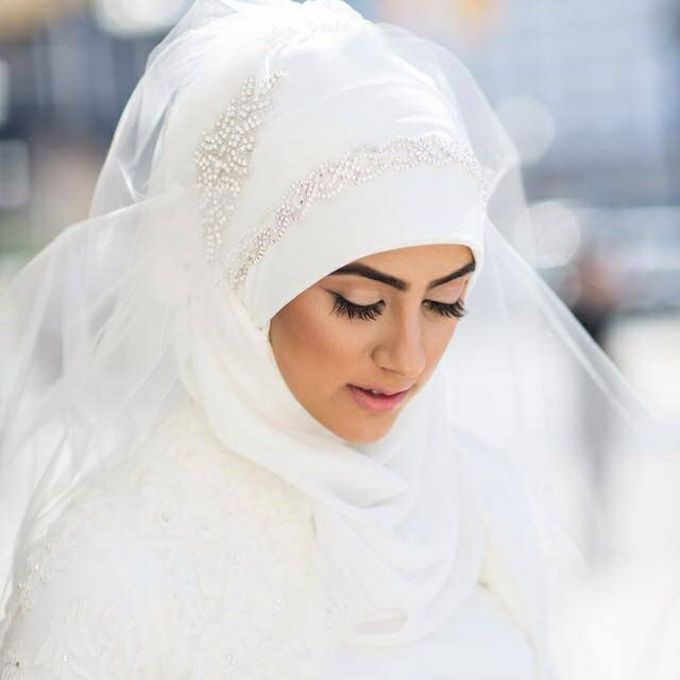 Bridal Hijab Styles by Hijab Styles By Nada - 008