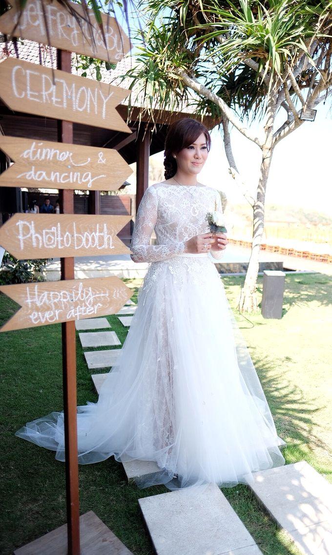 Jeffry & Gaby Wedding by Bramanta Wijaya Sposa - 006