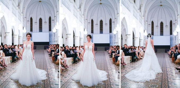 Fashion show at Chijmes by Gioielli Bridal Accessories & Crystal Bouquets - 001