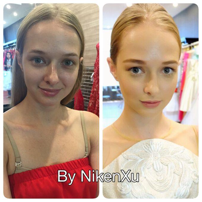 Wedding Makeup by Niken Xu Makeup Artist - 003