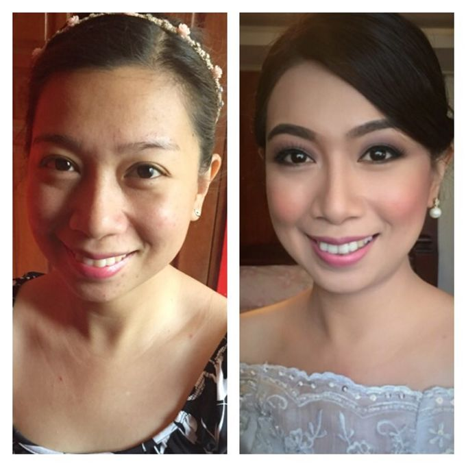 BEFORE AND AFTER by Nadine Rayo Hair and Makeup Artistry - 006