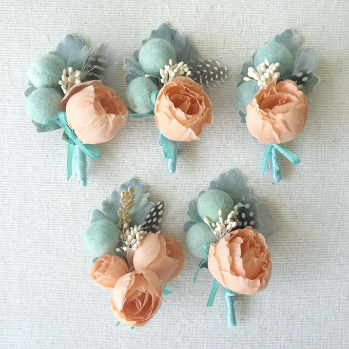 Corsages and Boutonnieres by Hummingbird Road - 006