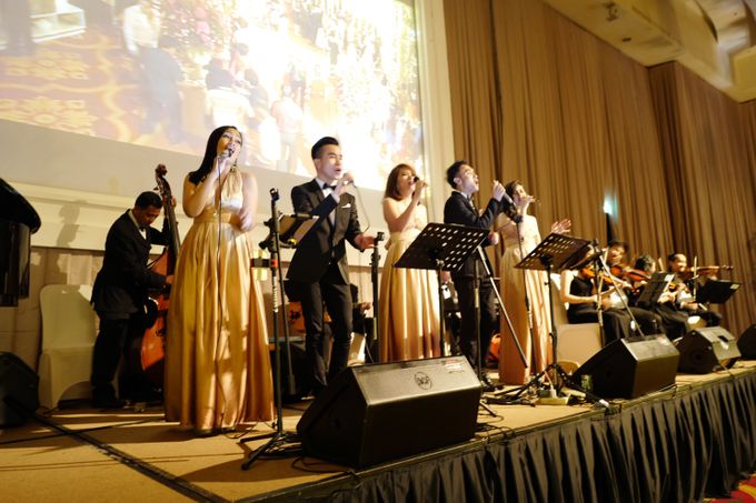 Andy & Katherine Grand Wedding by Nico Santoso Entertainment - 003