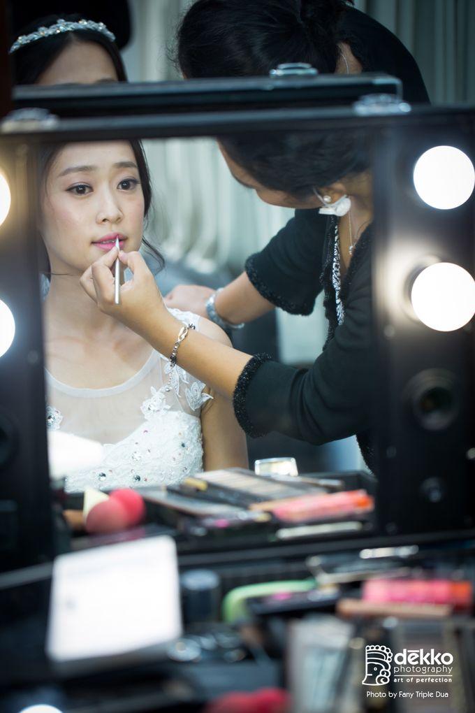 Bridal makeup for asian bride by Endrye MakeupArt - 001