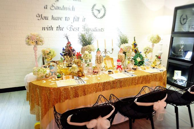 Gold christmas by Valexis Table Design - 009