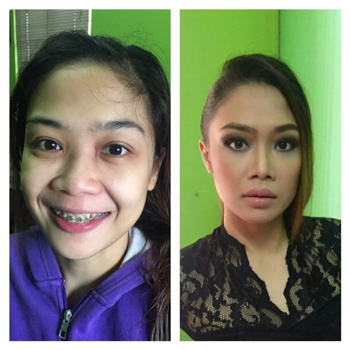 BEFORE AND AFTER by Nadine Rayo Hair and Makeup Artistry - 004