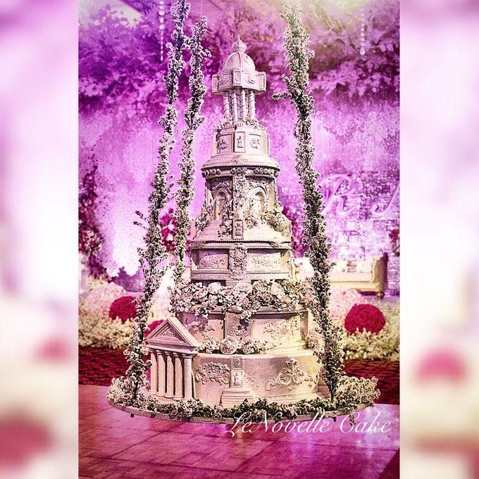 Masterpiece and Signature Wedding Cakes by LeNovelle Cake - 004
