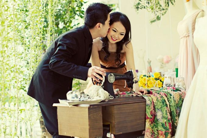 Prewedding Raycent & Lina by Noveo Alexander Professional Makeup Artist - 004