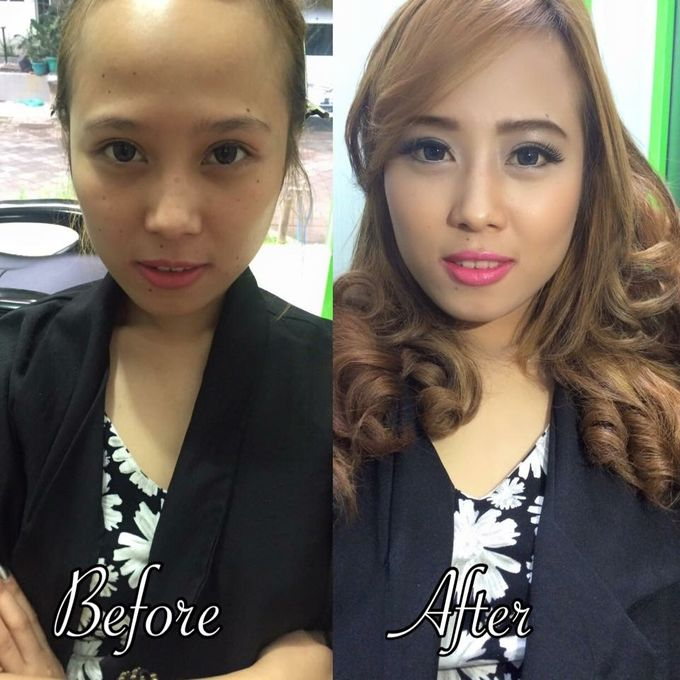 Professional makeup class by Maycy Makeupartis - 013