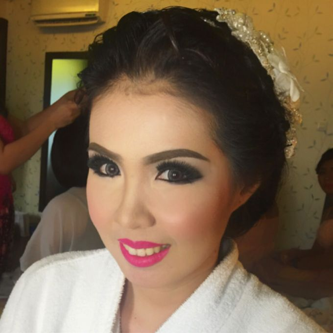 Wedding of Andhika and Mei by Vidi Daniel Makeup Artist managed by Andreas Zhu - 003