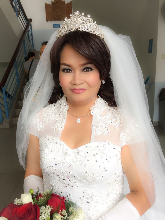 Wedding Singapore by Noveo Alexander Professional Makeup Artist - 002