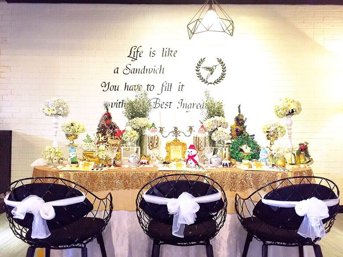 Gold christmas by Valexis Table Design - 010