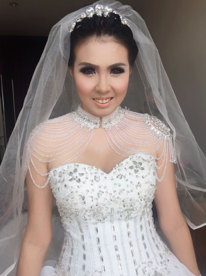 Wedding of Andhika and Mei by Vidi Daniel Makeup Artist managed by Andreas Zhu - 004