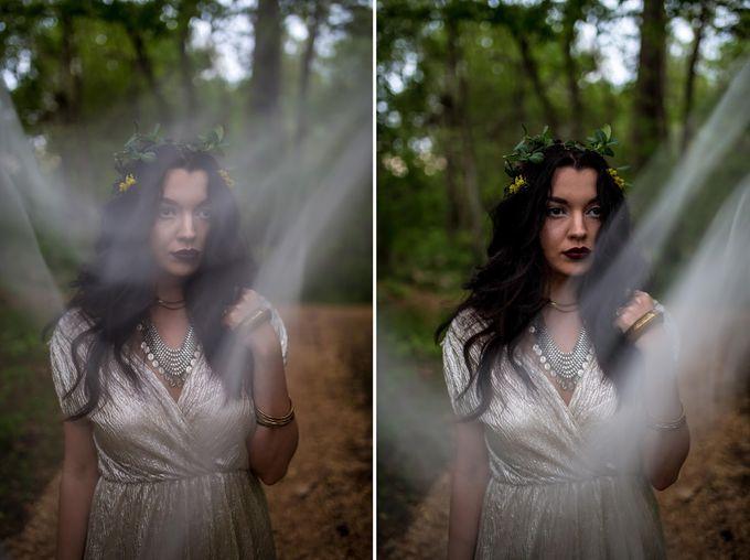 The woodland-boho bride by Kim Jey Photography - 003