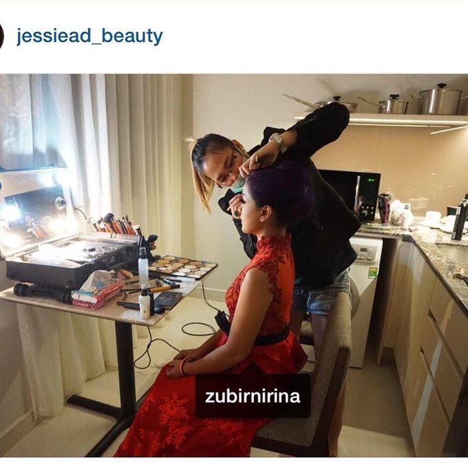 Nirina zubir makeup by Jessiead - 003