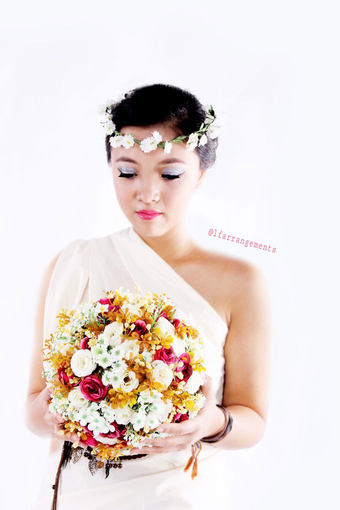 Wedding bouquet photography by Love Flower - 004