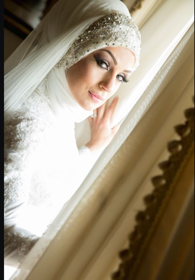 Bridal Hijab Styles by Hijab Styles By Nada - 003