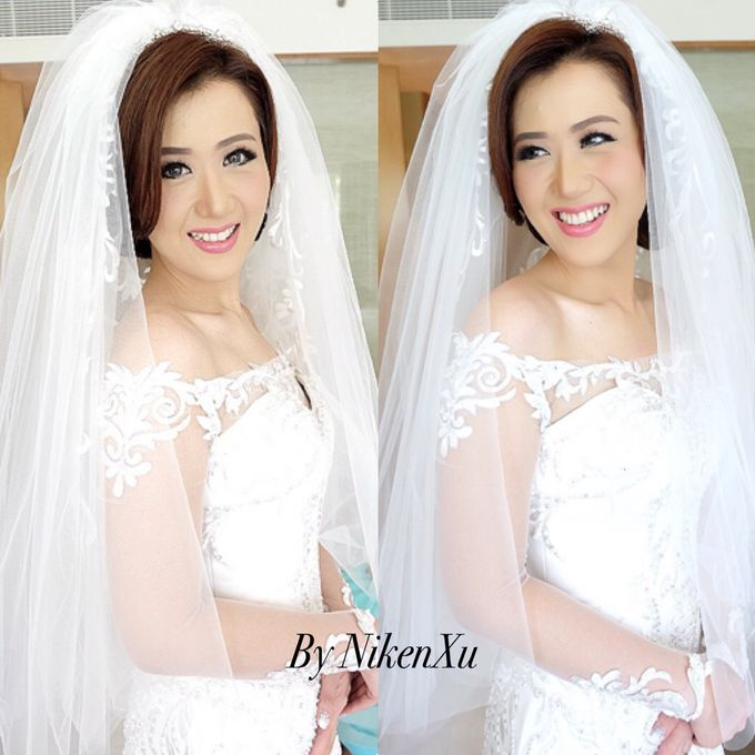 Wedding Makeup by Niken Xu Makeup Artist - 025