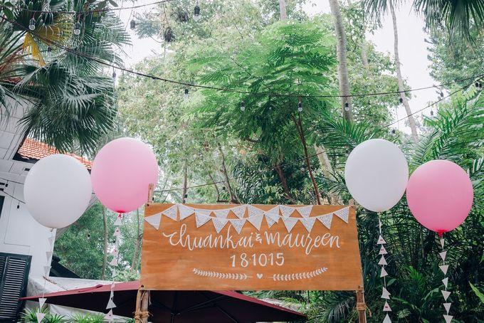 Maureen & Chuan Kai Garden Carnival Wedding by Butter Studio - 005