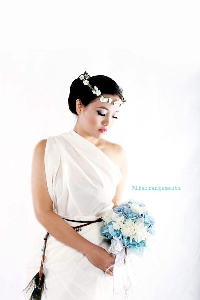 Wedding bouquet photography by Love Flower - 005