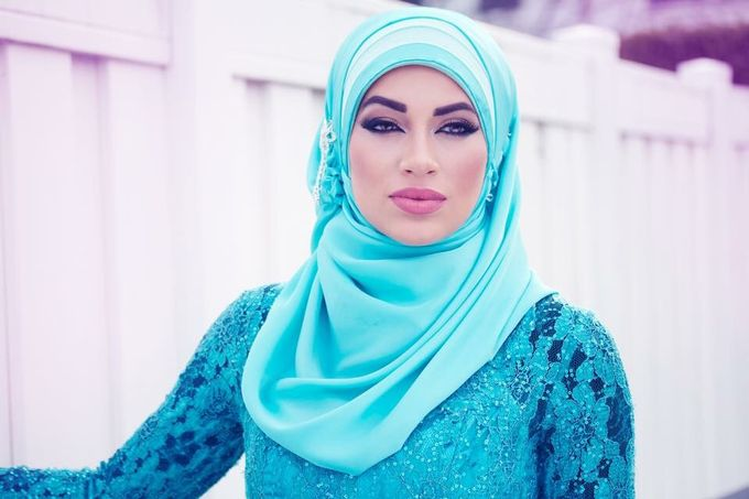 Bridal Hijab Styles by Hijab Styles By Nada - 005