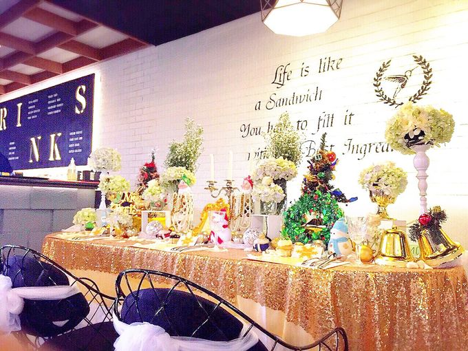 Gold christmas by Valexis Table Design - 007