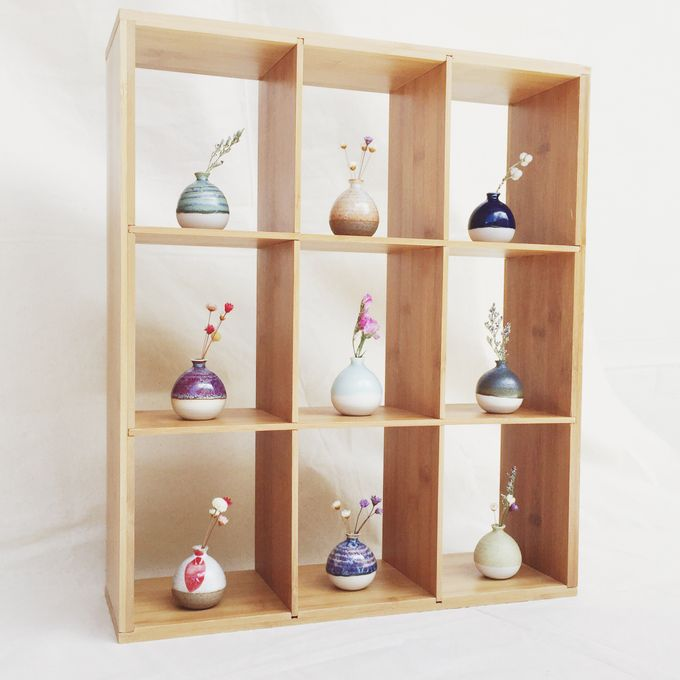 Handmade Mini Vase for Wedding door gift by Oh!eaf - 001