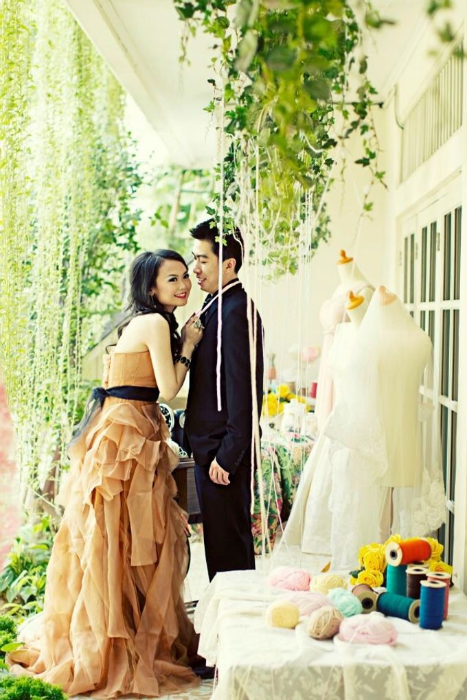 Prewedding Raycent & Lina by Noveo Alexander Professional Makeup Artist - 003