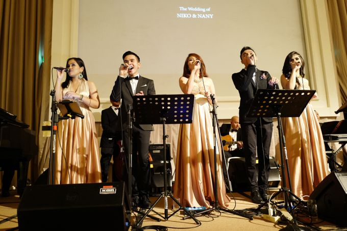 Andy & Katherine Grand Wedding by Nico Santoso Entertainment - 001