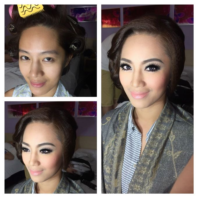Bride to be by Vidi Daniel Makeup Artist managed by Andreas Zhu - 008