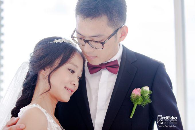 Bridal makeup for asian bride by Endrye MakeupArt - 003
