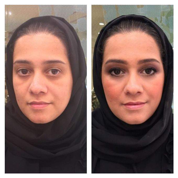 BEFORE AND AFTER by Nadine Rayo Hair and Makeup Artistry - 001
